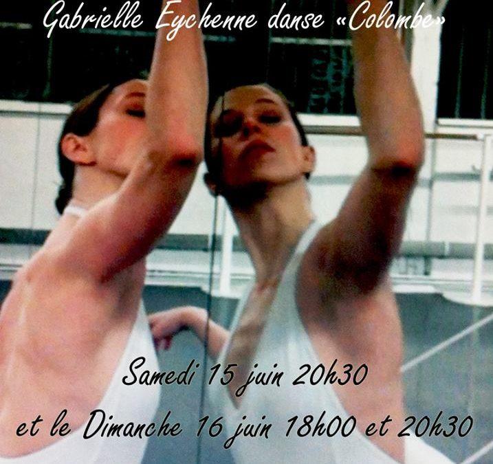 Mardi 29 avril 2014 «Colombe» cycle de solos dansés à l'Espace Keller