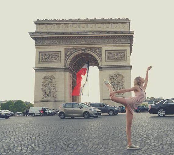 #Chorégraphe et danseuse sur #Paris