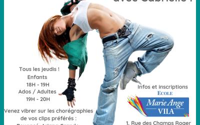 Rentrée Hip-Hop à Chatou avec Gabrielle Eychenne !