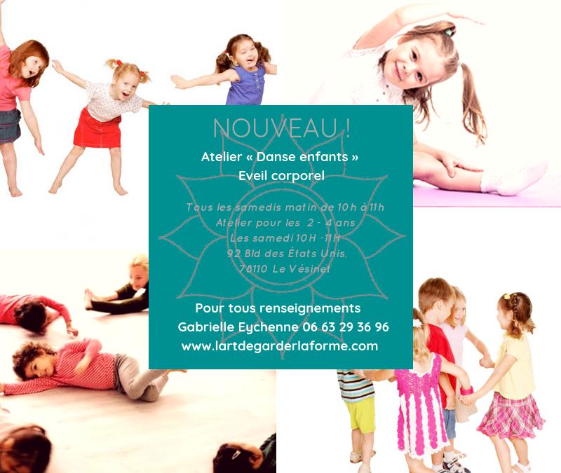 Nouveau ! Des cours d'éveil à la danse pour les jeunes enfants au Vésinet !