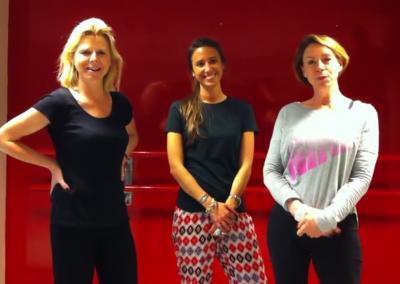 Cours de Pilates en mini groupe