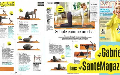 05/03/14 Double page dans le Santé Magazine ;D !!!