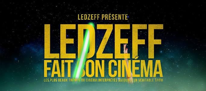 Le show #LedzeffFaitSonCinéma c'est jeudi prochain