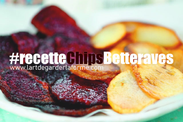 Recette #chipsBetteraves