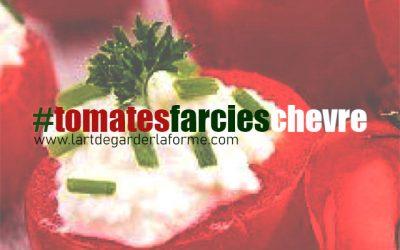 Recette #tomatesFarciesChèvre