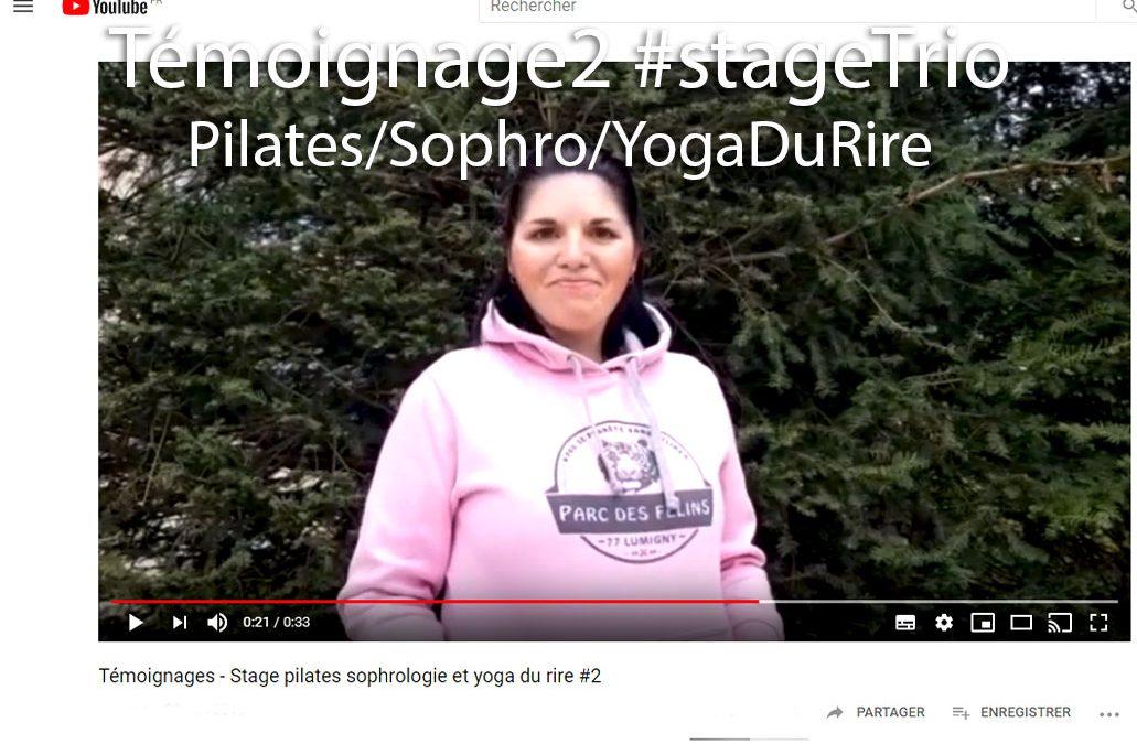 Témoignage2 #stageTrio