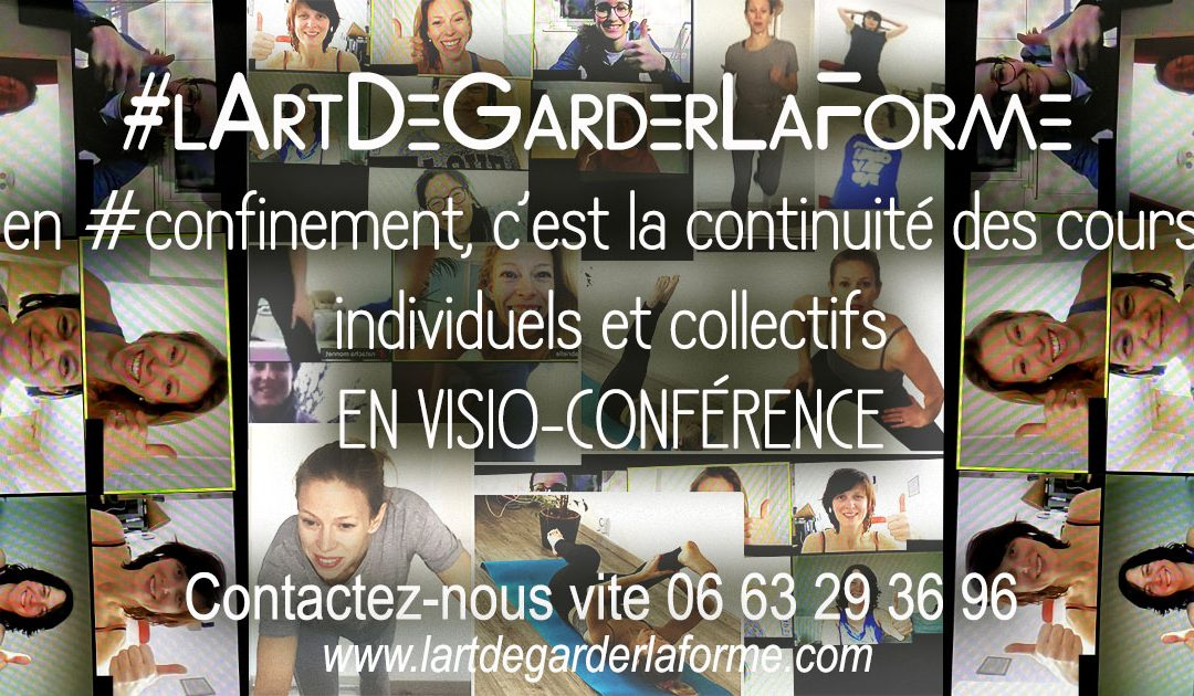 Confinement – Cours visio conférence