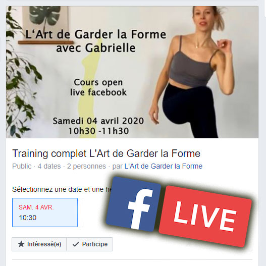 Training Facebook live